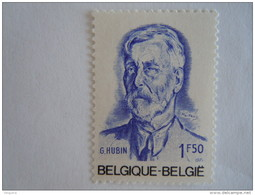 België Belgique 1971 Georges Hubin Minister Ministre De L'état 1591 MNH ** - Belgique