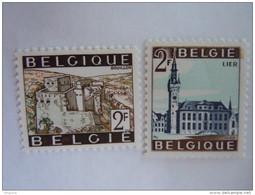 België Belgique 1966 Toeristische Zegels Série Touristique Bouillon Lier Lierre 1397-1398 MNH ** - Belgien