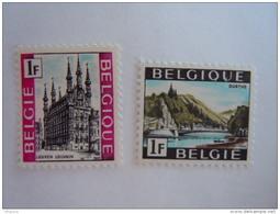 België Belgique 1968 Toeristische Zegels Série Touristique Leuven Stadhuis Ourthe-dal Louvain Vallée 1480-1481 MNH ** - Belgien
