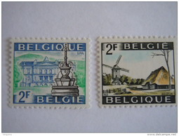 België Belgique 1968 Toeristische Zegels Série Touristique Bokrijk Spa 1461-1462 MNH ** - Belgien