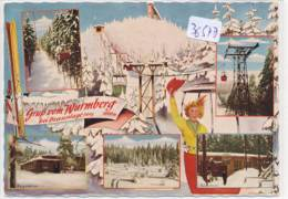 CPM GF-36547-Allemagne-Braunlage Gruss Multivues Vom Wurmberg - Allemagne