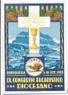 Borgosesia (Vercelli). IX Congresso Eucaristico Diocesano. 3/10 Settembre 1933. - Vercelli