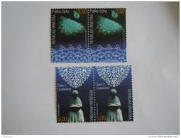 Kroatie Croatie Hrvatska 2002 Dentelelle Kant Lace Pair Paar Yv 584-585 MNH ** - Textile
