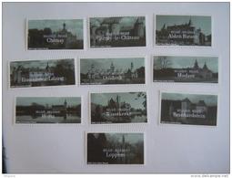 België Belgique 2002 Toerisme Kastelen Tourisme Châteaux Cob 3074-3083 Yv 3069-3078 MNH ** - Bélgica