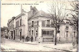 78 MONTESSON - Le Bureau De Poste (pli En Bas) - Montesson