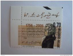 België Belgique 2006 Wolfgang Amadeus Mozart 3470 Yv 3455 MNH ** - Belgium