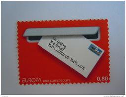 België Belgique 2008 Europa De Brief Europe La Lettre Cob 3780 Yv 3762MNH ** - Ungebraucht