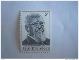 Belgie Belgique 1980 Frans Van Cauwelaert COB 1965 Yv 1964 MNH ** - Belgien