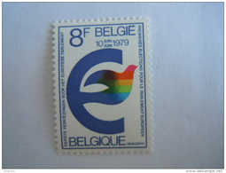 Belgie Belgique 1979 Première élections Parlement Européen Verkiezingen Europees Parlement COB 1924 Yv 1919 MNH ** - Belgien