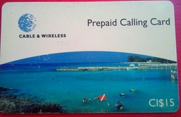 CI$15 Coast - Kaimaninseln (Cayman I.)