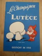 Le Champignon Lutèce Kookboekje Kabouter 1950 Zichen Zussen Bolder - Prácticos