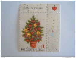 België Belgique 2007 Kerstmis Nieuwjaar Noël Nouvel An Kerstboom Arbre Planche 1 Cob 3733 Yv 3717 MNH ** - Numéros De Planches