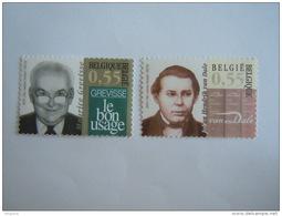 België Belgique 2005 Maurice Grevisse Johan Van Dale Cob 3353-3354 Yv 3338-3339 MNH ** - Ongebruikt