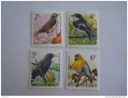 België Belgique 1996 Vogels Oiseaux Buzin Cob 2638 + 2653 + 2654 + 2665 MNH ** - 1985-.. Vögel (Buzin)