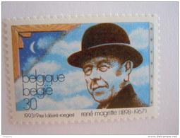 België Belgique 1993 René Magritte Schilder Paintre Surrealist Portrait Cob Yv 2518 MNH ** - België