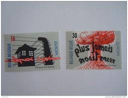 België Belgique 1995 Europa Bevrijding Kampen Libertion Des Camps De Concentration Non Proliferatie 2597-2598 MNH ** - Belgium