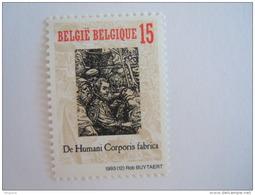 België Belgique 1993 De Humani Corporis Fabrica Libre Septem De Andreas Vesalius Cob Yv 2525 MNH ** - Belgium