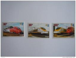 België Belgique 1998 Spoorwegvignet Eurostar & Thalys Trein Train SV6/8 MNH ** - Chemins De Fer