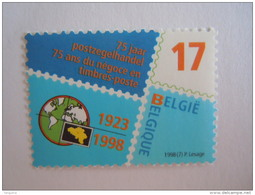 Belgie Belgique 1998 75 Jaar Postzegelhandel Ans Du Négoce En Timbre-poste Cob 2752 MNH ** - Bélgica