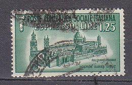 PGL - ITALY RSI EXPRESS SASSONE N°23 - 4. 1944-45 Repubblica Sociale