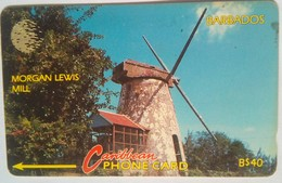10CBDC Morgan Lewis Mill B$40 - Barbades