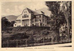 [DC7895] CPA - VELO D'ASTICO (VICENZA) - LA MONTANINA - IST. FIGLIE SI S. MARIA ANNUNCIATA Viaggiata 1950 - Old Postcard - Vicenza