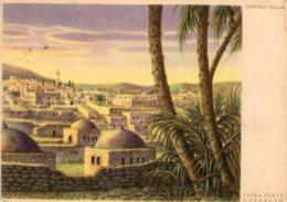 [DC7897] CPA - NAZARETH TERRA SANTA - ILLUSTRATA DA DANDOLO BELLINI - Non Viaggiata - Old Postcard - Israele