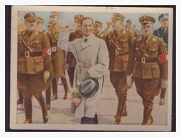 """DT- Reich (004317) Propaganda Sammelbild """"Kampf Ums Dritte Reich"""" Bild 196, Dr. Göbbels Auf Dem Flugplatz In Königsberg - Deutschland"""