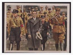 """DT- Reich (004319) Propaganda Sammelbild """"Kampf Ums Dritte Reich"""" Bild 194, Dr Göbbels Mit SA Führern - Deutschland"""