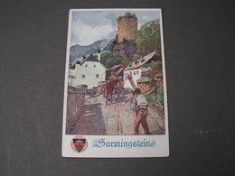 Dt. Schulverein , Künstelerkarte ..283   Sarnigstein - Künstlerkarten