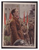 """DT- Reich (004330) Propaganda Sammelbild """"Kampf Ums Dritte Reich"""" Bild 195, Der Redner Dr.Göbbels Kämpft Um Die Deutsche - Deutschland"""