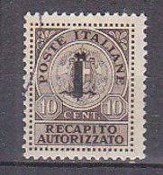 PGL CB243 - ITALIA RSI RECAPITO SASSONE N°4 - 4. 1944-45 Repubblica Sociale