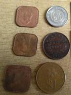 Malaysia Mix Coin $1 British Malaya Straits King George 1920 1943 1930 Sarawak Coin 1 Cent CV Brocke - Malaysia