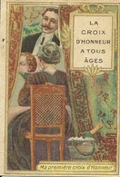 51 EPERNAY CALENDRIER 1910 PUBLICITE GAUTHIER VINS DE CHAMPAGNE CROIX D'HONNEUR CHATEAU DES ARCHERS MARNE - Calendars