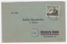 DT- Reich (004334) Beleg Wehrmacht II Mit MNR 885, Gelaufen - Germany
