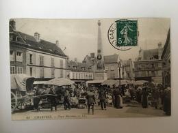 Chartes - Place Marceau - Chartres