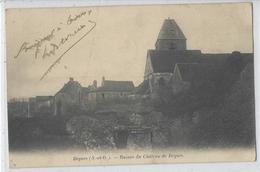 78 BEYNES RUINES DU CHATEAU DE BEYNES - Beynes