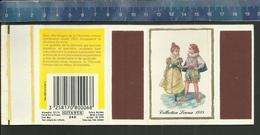 CHICORÉE COLLECTION LEROUX 1885 ( CICHOREI )  Boîte D'allumettes GITANES SEITA - Boites D'allumettes - Etiquettes