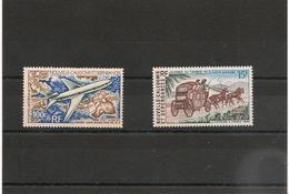 NOUVELLE CALÉDONIE P.A. Année 1973 N°Y/T :144**-146** Côte: 13,00 € - Poste Aérienne