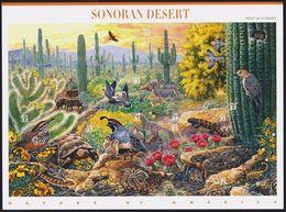 US 1999 Sheet Wildlife Of Sonoran Desert,Scott # 3293,XF MNH** ,Self Adhesive ! - Sheets