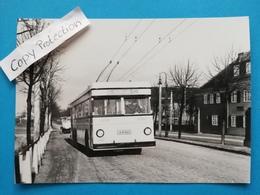 Berlin-Gartenstadt Staaken, O-Bus, Finkenkruger Weg, 1950 - Spandau