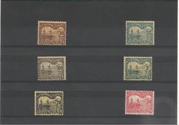 NOUVELLE CALÉDONIE TAXE Année 1906 N°Y/T : 17/20*-22/23* - Timbres-taxe