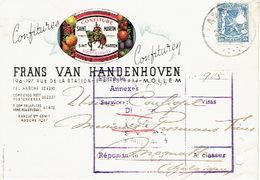 PK Publicitaire - MOLLEM 1944 - FRANS VAN HANDENHOVEN - Confituren SINT-MARTEN - Confitures SAINT-MARTIN - Asse