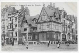 Westende - La Digue Et L'Avenue Des Mouettes - Westende