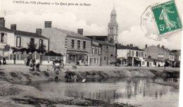 Croix De Vie : Le Quai Près De La Gare - Saint Gilles Croix De Vie
