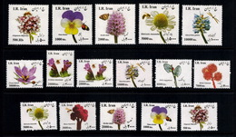 2015 - Defentive Medicinal Plants Complete Set , Single Set   ( Large Size 5 + Small Size 12 ) - Iran - Iran