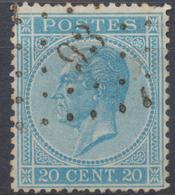 Nr. 18 -  Denderleeuw - 1865-1866 Profile Left