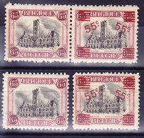 BELGIQUE COB 182, 188, 188A ** MNH. (3T386G) - Belgique