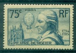 FRANCE N° 313 N Xx PILATTRE DE ROZIER COTE : 45 €. - Nuevos