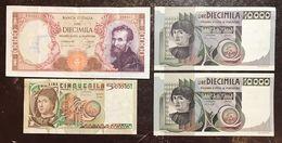 9 Banconote X 40000 Lire Da Q.bb A Sup/fds LOTTO 552 - [ 2] 1946-… : Républic